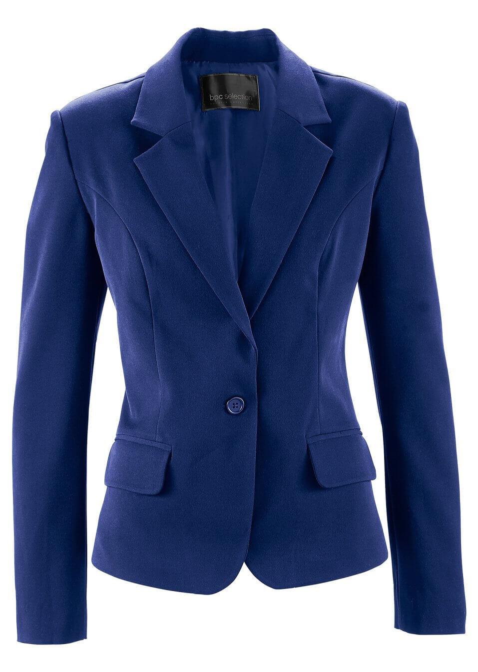 Niebieski żakiet