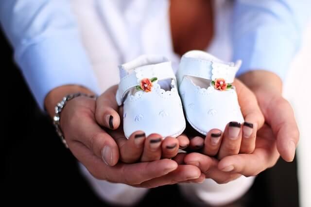 Buty na chrzest dla dziewczynki
