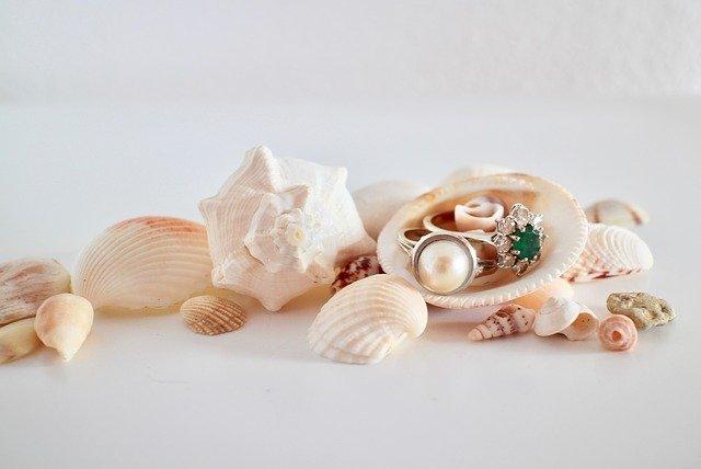 biżuteria i muszle